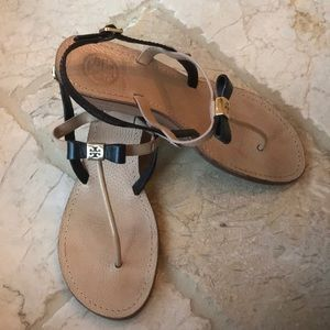 Tory Burch thong wedge sandals